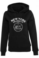 Ladies NYU Logo Hoody