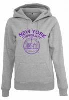 Ladies NYU purple Logo Hoody