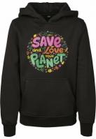 Kids Save And Love Hoody