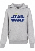 Kids Star Wars Blue Logo Hoody