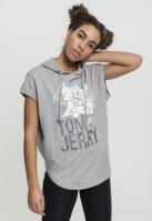 Ladies Tom & Jerry Sleeveless Hoody