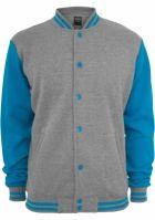 Kids 2-tone College Sweatjacket