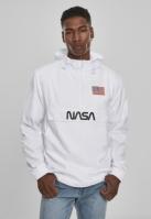 NASA Worm Logo Pull Over Jacket