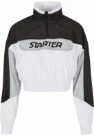 Ladies Starter Colorblock Pull Over Jacket