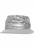 Crinkled Paper Bucket Hat