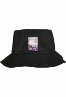 Miami Vice Print Bucket Hat