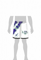 CSBL Meaning Of Life Tie Dye Sweat Shorts