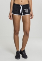 Ladies Motorhead Logo French Terry Hotpants
