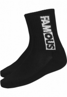Famous Lettering Socks Double Pack