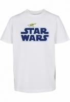 Kids Star Wars Blue Logo Tee