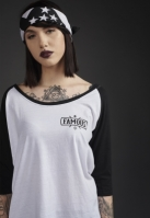 Ladies Chaos Patch Raglan Tee