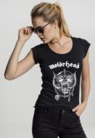 Ladies Motorhead Logo Cutted Back Tee