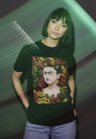 Ladies Frida Kahlo Portrait Tee