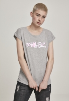 Ladies Gorillaz Logo  Tee