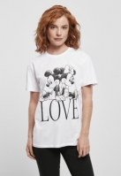 Ladies Minnie Loves Mickey Tee