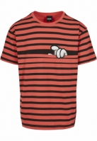 MY NEIGHBOR STRIPES Semi Box Tee