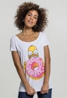 Ladies Simpsons Donut Tee
